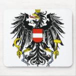 emblema de Austria Alfombrillas De Ratones