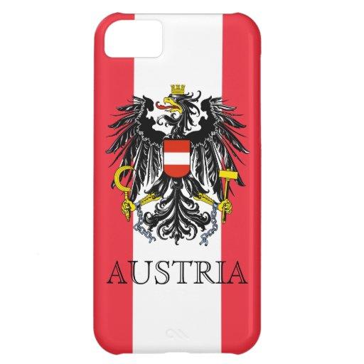 emblema de Austria Carcasa Para iPhone 5C