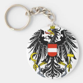 emblema de Austria Llavero Redondo Tipo Pin