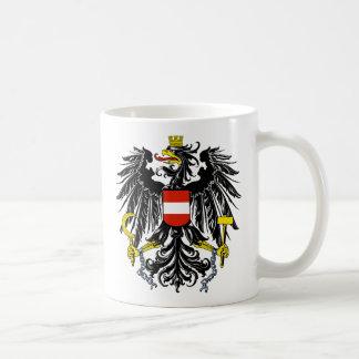 emblema de Austria Taza