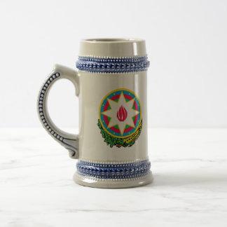 emblema de Azerbaijan Jarra De Cerveza