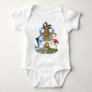 emblema de Bahamas Body Para Bebé