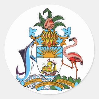 emblema de Bahamas Etiqueta