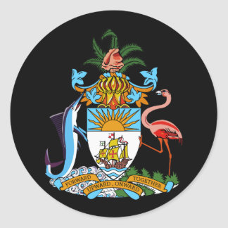 emblema de Bahamas Pegatina