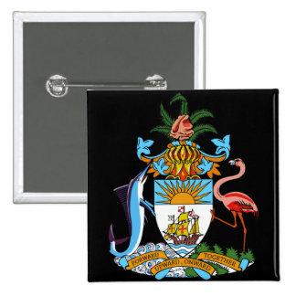 emblema de Bahamas Pin Cuadrado