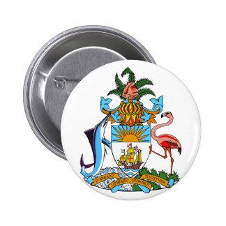 emblema de Bahamas Pin Redondo De 2 Pulgadas