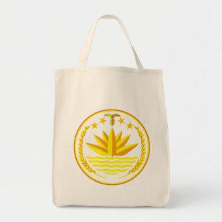 emblema de Bangladesh Bolsas De Mano