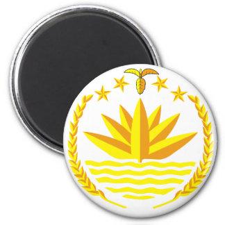 emblema de Bangladesh Imán Redondo 5 Cm