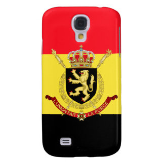 emblema de Bélgica Carcasa Para Galaxy S4