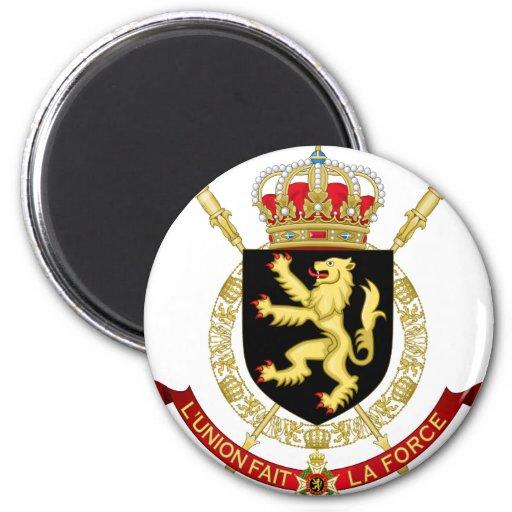 emblema de Bélgica Iman Para Frigorífico