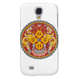 emblema de Bhután Funda Para Galaxy S4