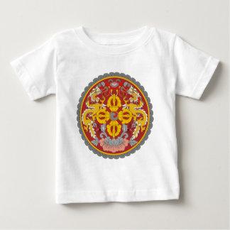 emblema de Bhután Playera Para Bebé