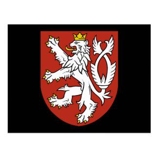 emblema de Bohemia Tarjeta Postal