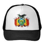 emblema de Bolivia Gorros Bordados