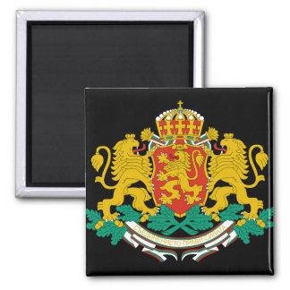 emblema de Bulgaria Imán Cuadrado