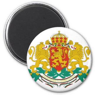 emblema de Bulgaria Imán Redondo 5 Cm