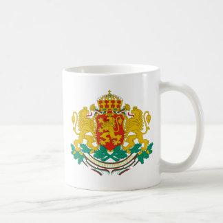 emblema de Bulgaria Tazas De Café
