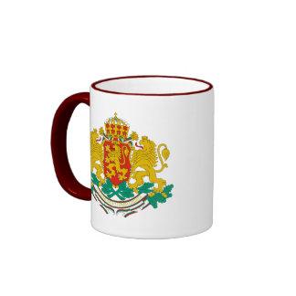 emblema de Bulgaria Taza De Café