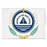 emblema de Cabo Verde Felicitaciones