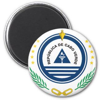 emblema de Cabo Verde Imán Redondo 5 Cm