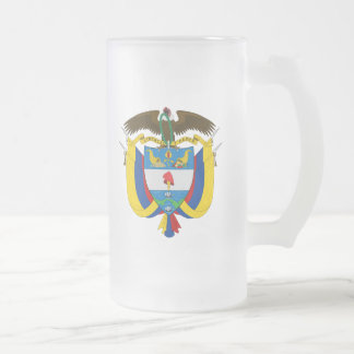 emblema de Colombia Taza De Cristal
