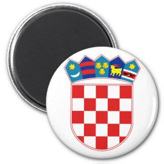 emblema de Croacia Imán De Frigorifico