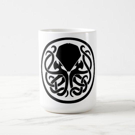 Emblema de Cthulhu Taza De Café