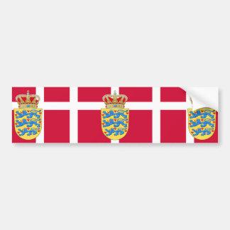 emblema de Dinamarca Pegatina Para Auto