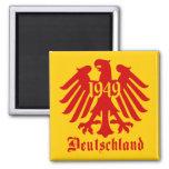 Emblema de Eagle del alemán de Deutschland 1949 Imanes De Nevera