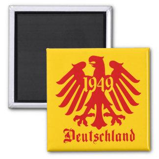 Emblema de Eagle del alemán de Deutschland 1949 Imán Cuadrado