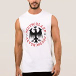 Emblema de Eagle del alemán de Deutschland Camisetas Sin Mangas