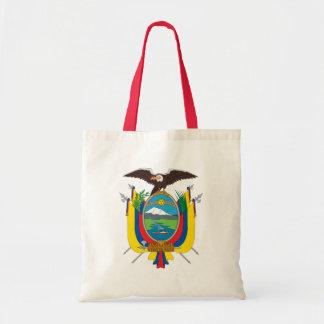emblema de Ecuador Bolsa Tela Barata
