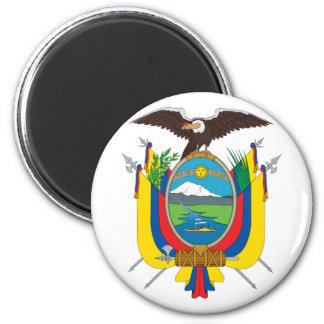 emblema de Ecuador Imán Redondo 5 Cm