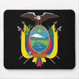 emblema de Ecuador Alfombrillas De Ratón