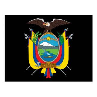 emblema de Ecuador Postales