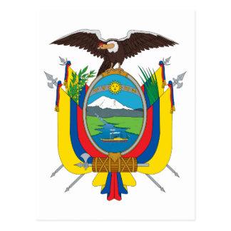 emblema de Ecuador Postal