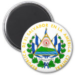 emblema de El Salvador Imán De Frigorifico