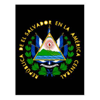emblema de El Salvador Postales
