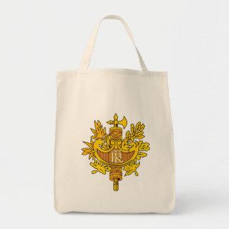 emblema de Francia Bolsas De Mano
