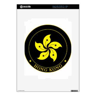 Emblema de Hong Kong - 香港特別行政區區徽 iPad 2 Calcomanías