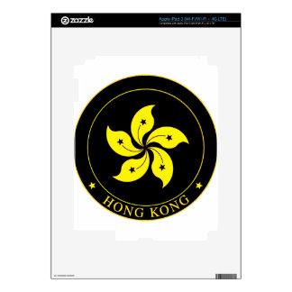 Emblema de Hong Kong - 香港特別行政區區徽 iPad 3 Pegatinas Skins