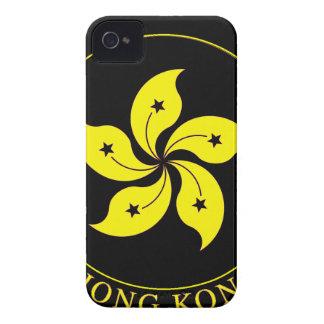 Emblema de Hong Kong - 香港特別行政區區徽 iPhone 4 Carcasas