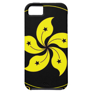 Emblema de Hong Kong - 香港特別行政區區徽 iPhone 5 Carcasas
