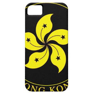 Emblema de Hong Kong - 香港特別行政區區徽 iPhone 5 Funda