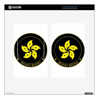 Emblema de Hong Kong - 香港特別行政區區徽 Kindle Fire Skins