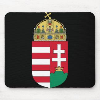 emblema de Hungría Alfombrillas De Ratón