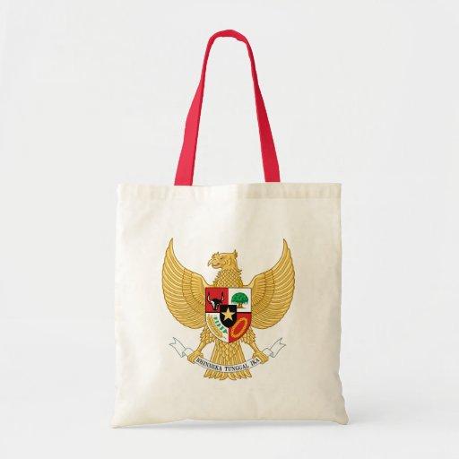 emblema de Indonesia Bolsas