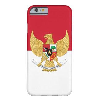 emblema de Indonesia Funda De iPhone 6 Barely There