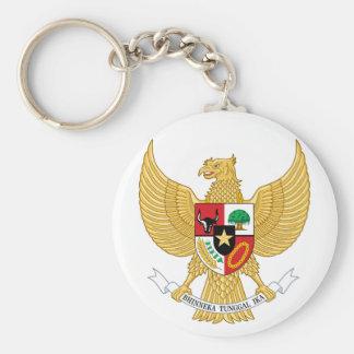 emblema de Indonesia Llaveros