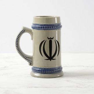 emblema de Irán Taza